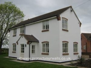 Replacing loose paint and render - Case Study 12, Image 8.