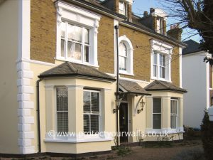 London Exterior Wall Coatings and Rendering job - after photo