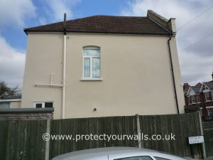 West Sussex Exterior Wall Coatings and Rendering job - after photo